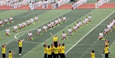 安康第十六届运动会开幕 68个代表团4199人参赛
