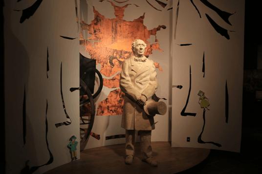 博物馆中的安徒生像