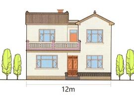 12米开间二层新农村自建房