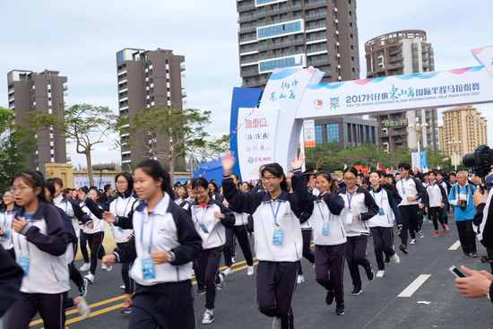 2017东山岛国际半程马拉松落幕 非洲选手包揽冠军