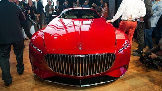 迈巴赫轿跑概念车 – Mercedes-Maybach 6实拍的照片 - 13
