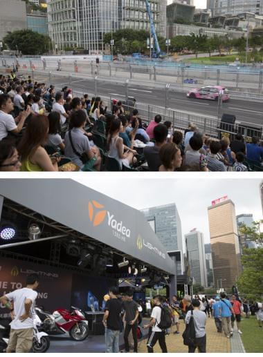国际电动方程式赛车锦标赛上最闪耀的明星:雅迪Lightning