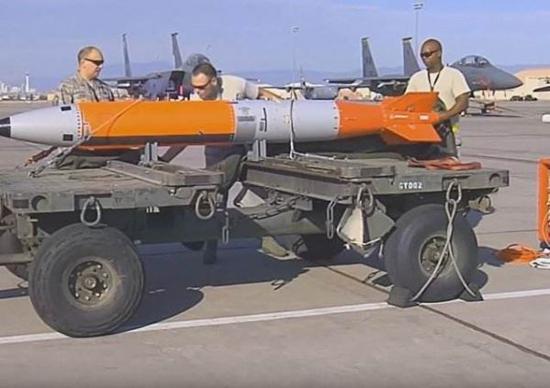 美国新型核弹威力巨大 却无法击毁中俄坚固掩体