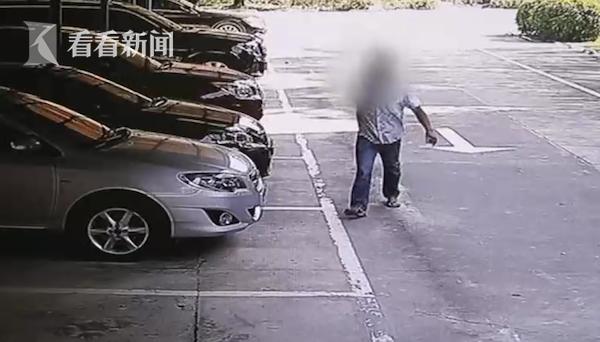 男子办不成离职手续  为泄愤狂砸老板豪车被捕
