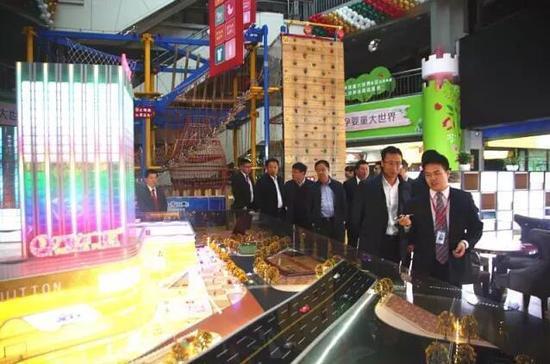 黑龙江省建设集团的领导莅临德汇集团考察项目 寻求合作