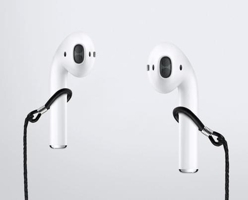 iPhone 7 AirPods耳机挂绳出现:售价8美元的照片 - 1
