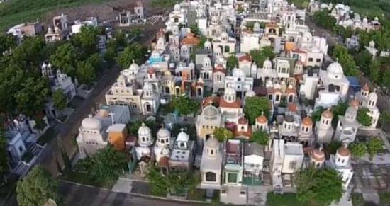 墨西哥毒贩们的豪华陵墓