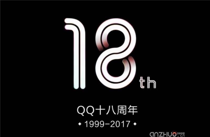 今天真的是QQ 18岁生日 但是转发没有Q币的照片 - 2