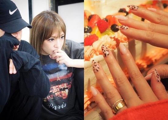 滨崎步近日在社交网站接连晒戒指¡£