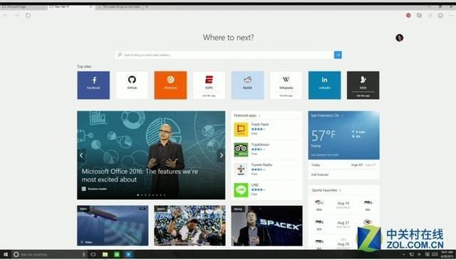 微软又推黑科技新招 Edge浏览器读网页