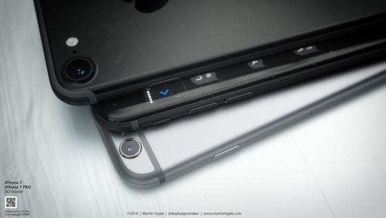 无耳机端口和电容Home按键的iPhone 7或许长这样的照片 - 13
