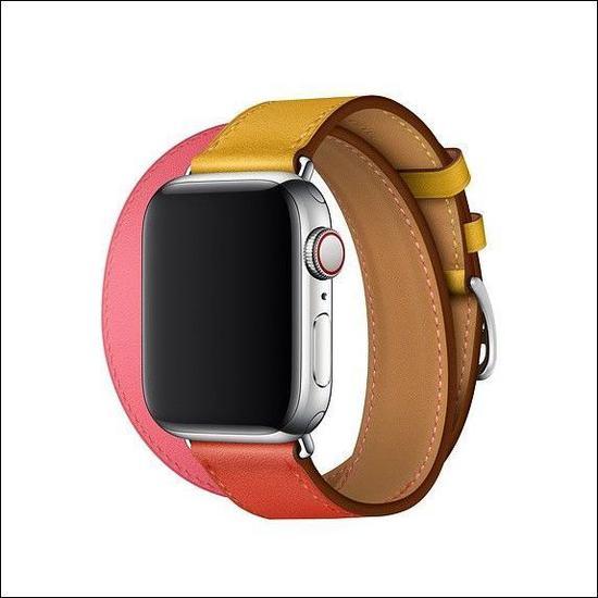 苹果上新两款爱马仕版:Apple Watch多彩表带