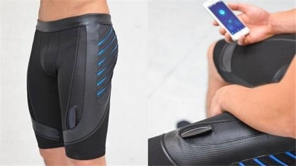 神奇的智能短裤:震动按摩 改善男人性能力的照片 - 1