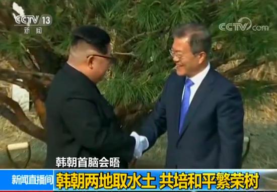 韩朝首脑会晤成历史性时刻 会晤安排处处显心意