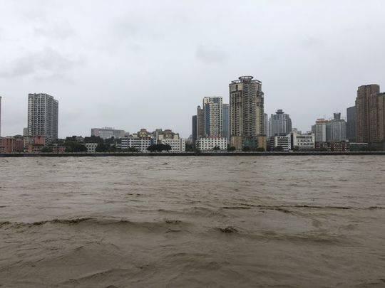 绵阳各江河受暴雨影响发生较大洪水 已转移7265人