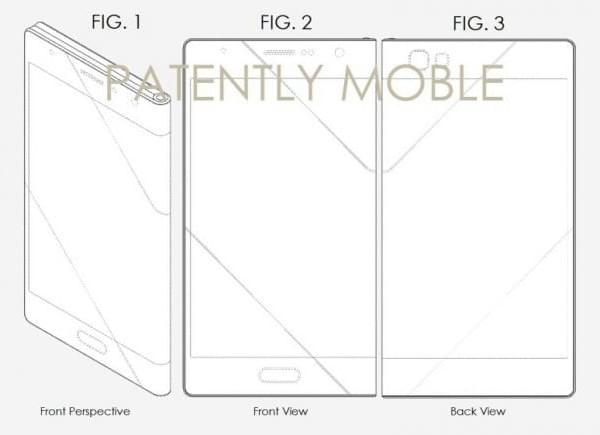 又一新专利曝光:疑似一款可折叠的三星智能机的照片 - 2
