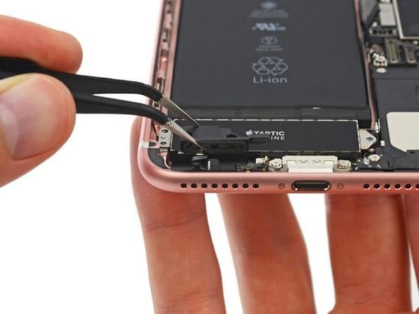 iPhone 7 Plus拆解:2900mAh容量电池的照片 - 14