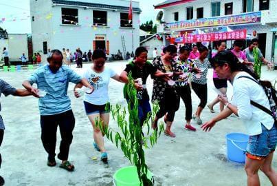 农事体育活动凝心聚力