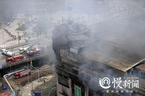 四川达州�e火灾烧了3天终ぷ于灭了 有商∑户称损失超千万