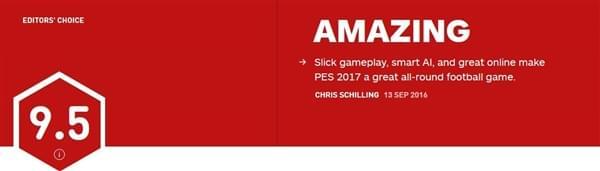 《实况足球2017》IGN 9.5分:最强足球游戏的照片 - 2