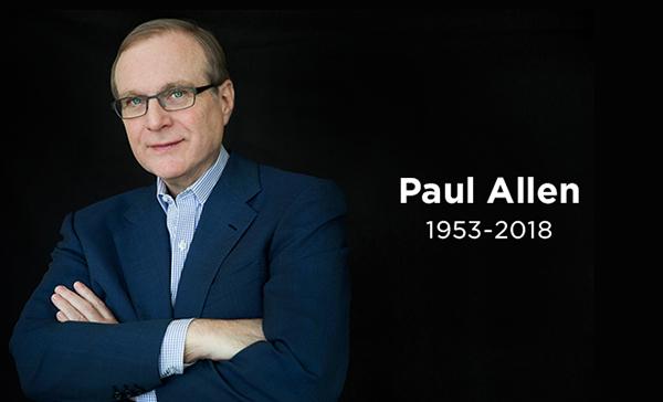 微软二号保罗·艾伦去世:他给微软取了名,劝盖茨退学
