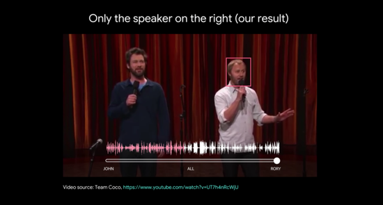 喧闹中你也能辨识熟人声音,谷歌AI也想做到这点