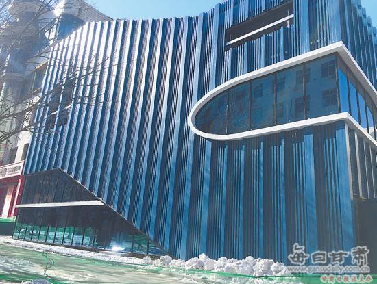 【图片新闻】平凉市首座立体停车库即将完工