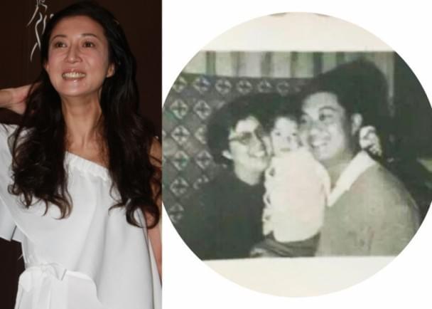 吴绮莉自曝和父母的唯一合照 呼吁珍惜眼前所有