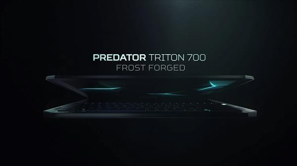 透明触控板+机械键盘 宏碁超薄i7游戏本Predator Triton 700发布的照片 - 2