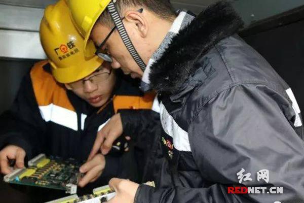 守护湖南春运的铁路人:用安全为中国高铁保驾护航