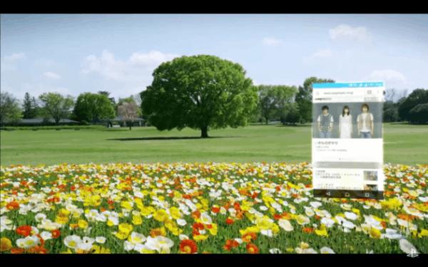 不摘下PS VR就能看手机消息:索尼把手机画面放进VR的照片