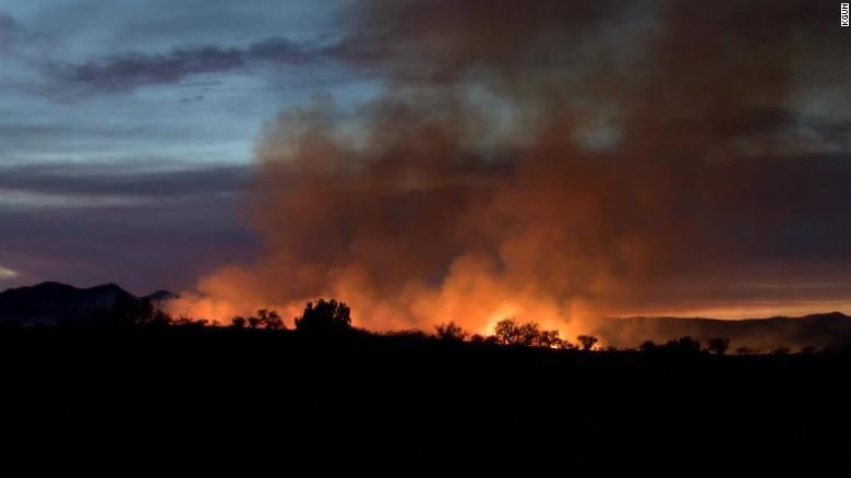 美国一巡逻员办聚会烧毁2万公顷森林 需赔偿5500万