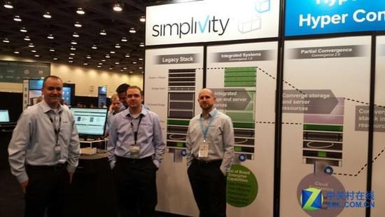 惠普6.5亿美元收购SimpliVity服务器管理工具