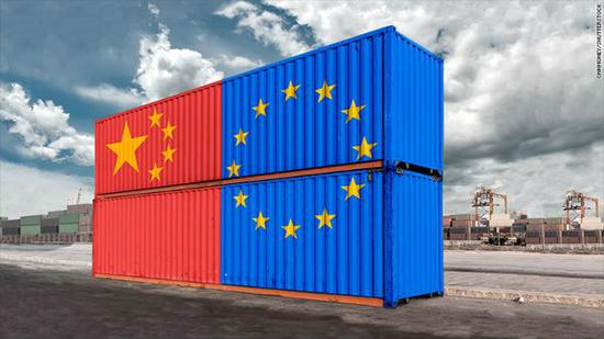 中欧合作意向图