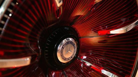 迈巴赫轿跑概念车 – Mercedes-Maybach 6实拍的照片 - 12