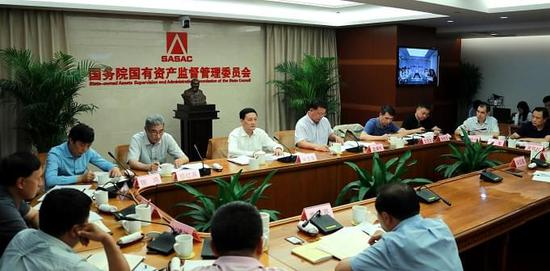 国资委:中央企业要扩大重大项目股权融资比例