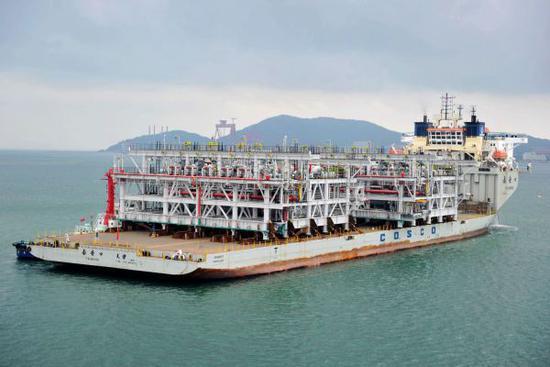中国把液化天然气加进征税清单 回应美国相应举措