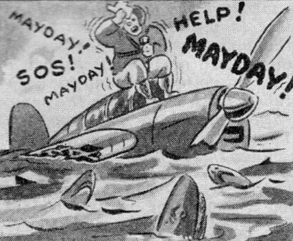 """你总能在打枪游戏里听到的那句""""Mayday!""""究竟是啥意思"""