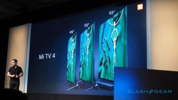 小米电视4美国亮相 机身仅厚4.9mm的照片 - 11