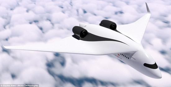 Akka展示可组合的概念飞机 或彻底改变未来空中旅行