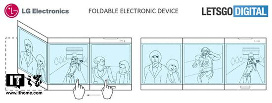 LG三屏手机专利曝光:平板电脑杀手降临