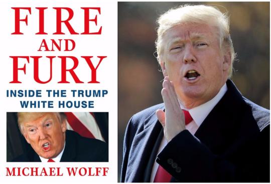 曝特朗普猛料新书在美火爆 白宫人员:一本垃圾书