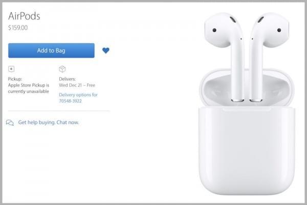 苹果AirPods 正式发售 最快20号送达的照片 - 3