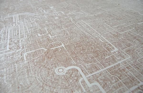 日本惊现超复杂迷宫图:竟然有近一米长的照片 - 3
