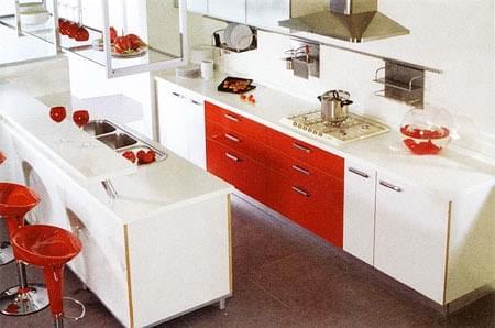 橱柜,橱柜清洁,台面变形,青岛厨房装修,青岛装修设计