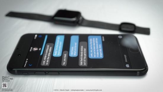 无耳机端口和电容Home按键的iPhone 7或许长这样的照片 - 8