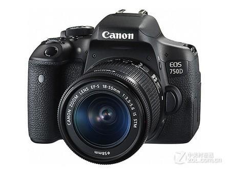 高画质影像 佳能 750D套机售价4160元