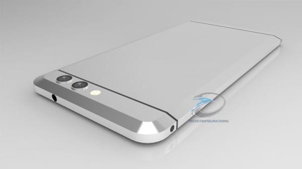 HTC无按钮Ocean渲染图曝光:双摄像头+USB-C端口的照片 - 2