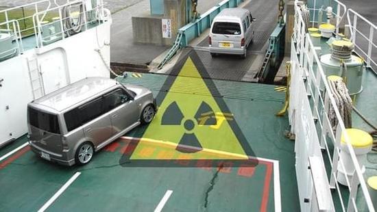 日本核辐射二手车出口:买家毫不知情