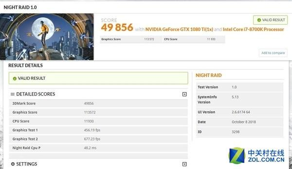针对低配产品3DMark新增Night Raid项目